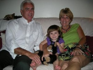 Caylee with Cindy and George Anthony (grandparents)